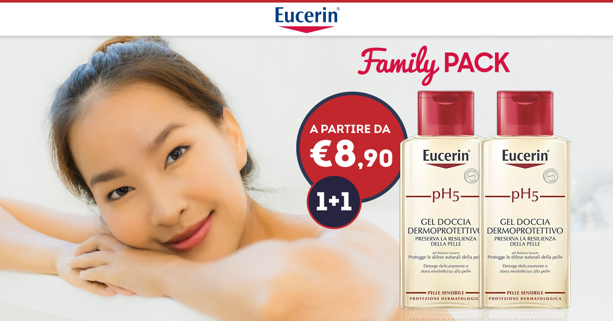 Promo Eucerin Family Pack